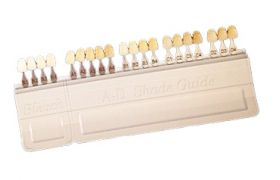 ESCALA DE COR BLEACH DENTE CLAREADO + A-D SHADE GUIDE 20 CORES - IVOCLAR